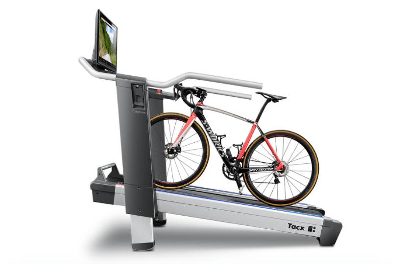 Tacx magnum le hometrainer tapis roulant - Velo elliptique ou tapis de course pour maigrir ...