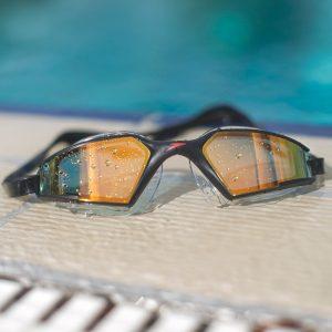 lunettes-natation-triathlon-orange