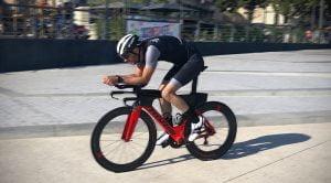 partie vélo triathlon