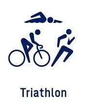 Pictogramme triathlon